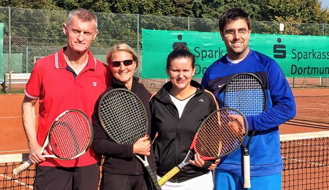 Hörder Tennis-Club: Clubmeisterschaften Mixed 2015